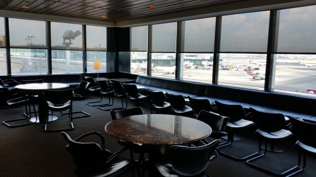 united airlines club lounge LaGuardia airport 20150803_131253