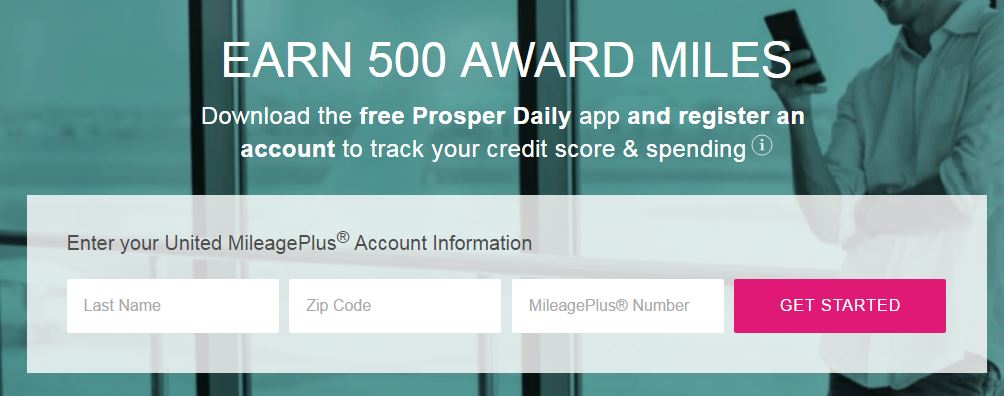 500 FREE United Miles – Quick and Easy