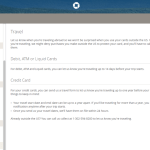 How to Complete a Chase Travel Notification Form Online