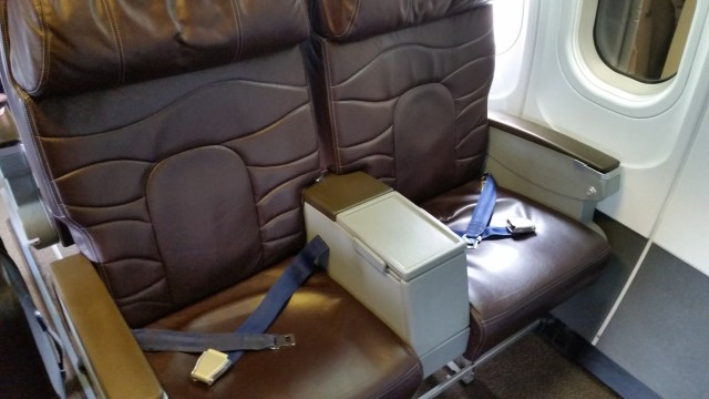 Hawaiian airlines first class 717-200 HNL – LIH