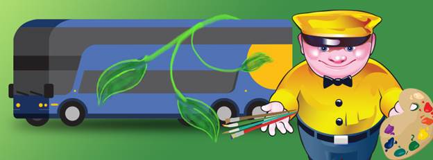 Eco-Friendly Travel Tips for Earth Month + Enter Megabus Art Contest