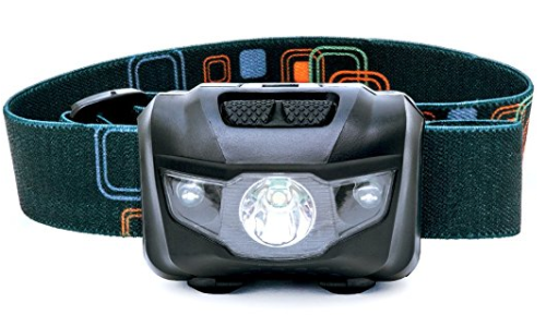 Gift Ideas for Travelers include a Shining Buddy LED Headlamp