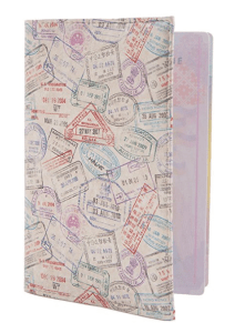 passport covers are cute travel gifts and stocking stuffers for Travelers