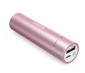 A portable charger is one of the most useful and practical gifts for women who travel a lot
