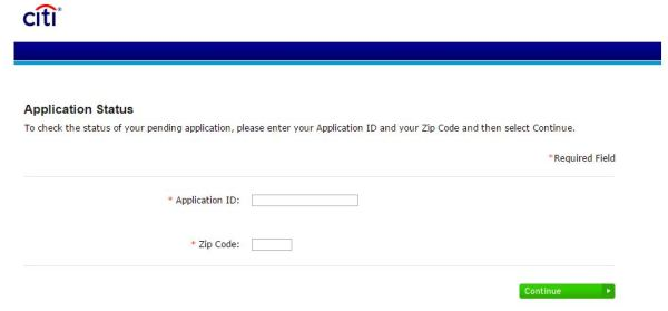 how to check citicards citi credit card application status and retention line number