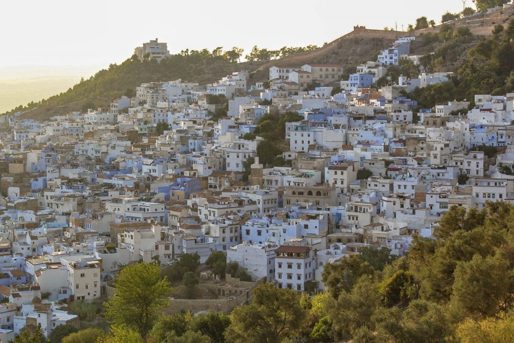 Chefchaouen sunset