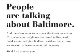 Visit Baltimore d