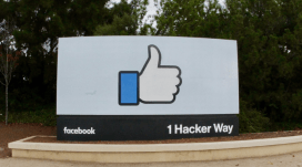 1 Hacker Way (Photo: David Fulmer, flickr 2.0)