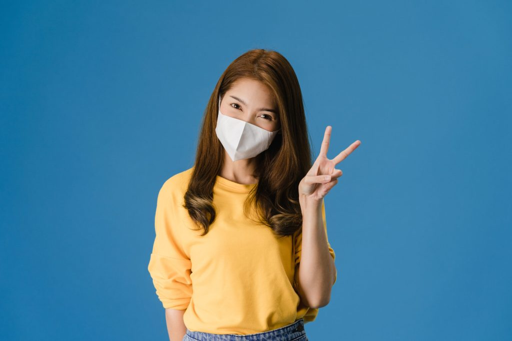 Woman wearing mask, Photo by Q000024 form PxHere