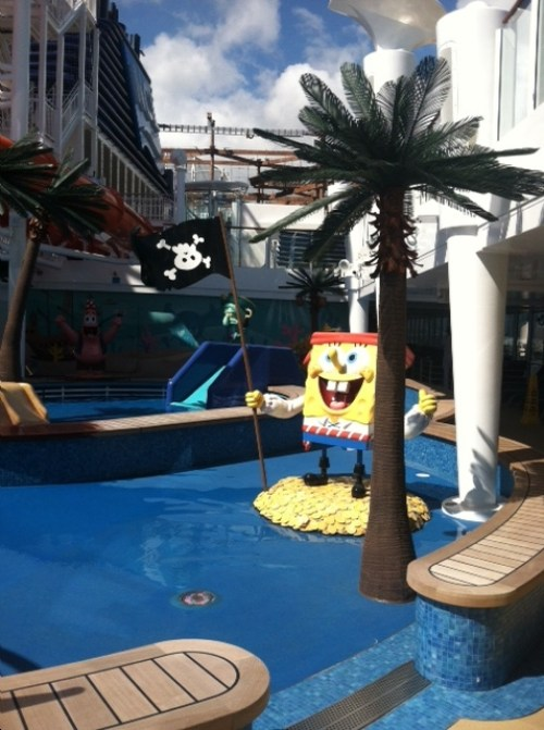 SpongeBob on Norwegian Getaway