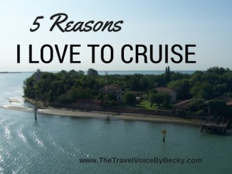 5 Reasons I love to cruise
