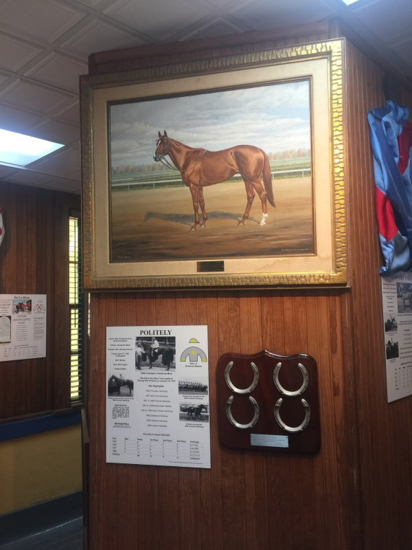 Thoroughbred Racing Hall of Fame, Aiken SC