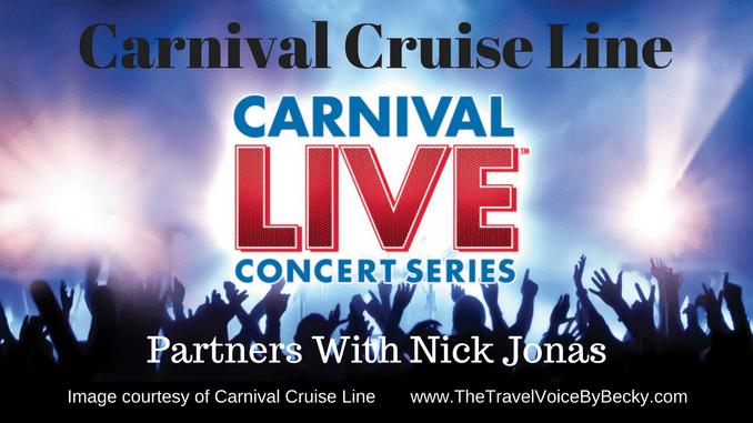 Carnival Cruise Line Nick Jonas