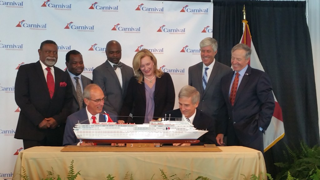 Carnival Returns To Port Of Mobile