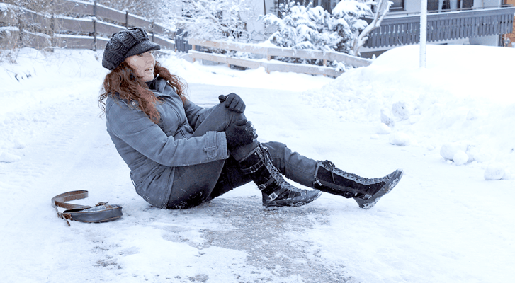 Preventing Winter Slip and Fall Accidents in Northwestern Pennsylvania