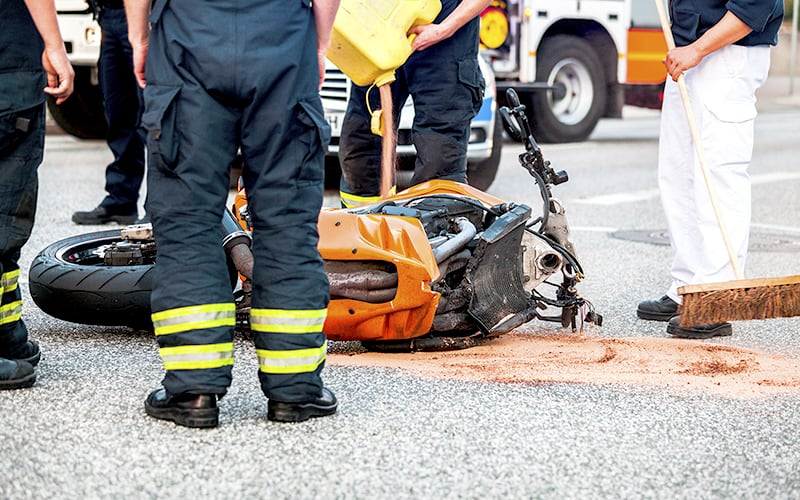 Involved in a motorcycle accident and in need of a lawyer?