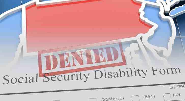 Denied SDI form in Pennsylvania
