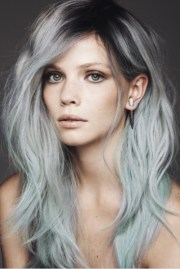 hair trends dip-dye ombre