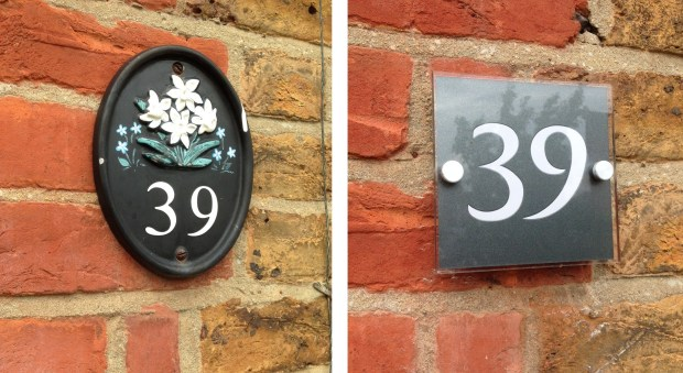 Brass House Number Plaques Home Design Ideas