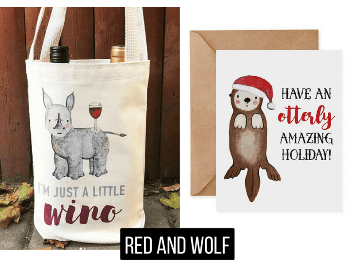 Red and Wolf Paper Co