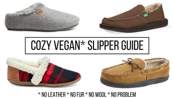 Vegan slippers guide