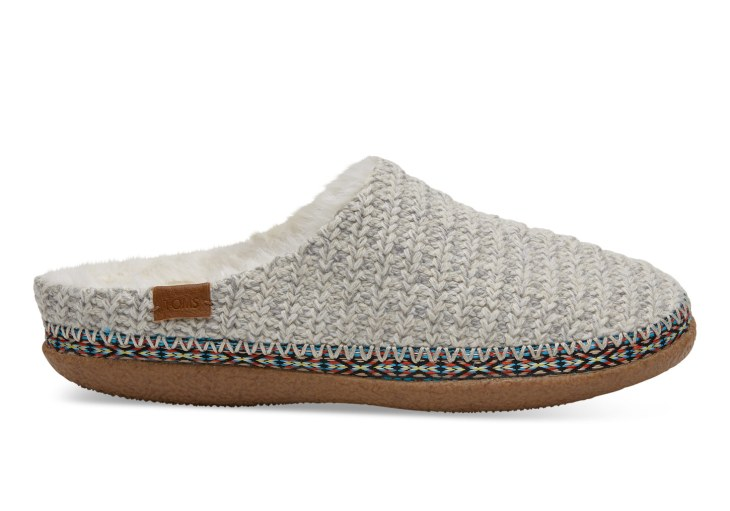 Toms Birch Sweater Knit Womens Ivy Vegan Slipper