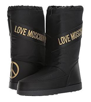 love moschino vegan snow moon boots