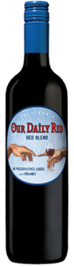 our daily red vegan wine