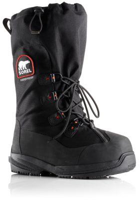 sorel men's vegan intrepid explorer snow boots