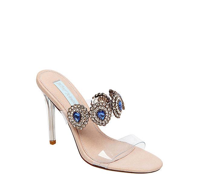betsey johnson vegan wedding shoes heels bridal SB-OWEN_CLEAR