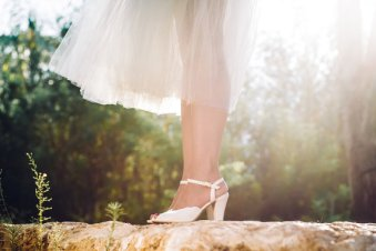etsy vegan non-leather wedding bridal shoes