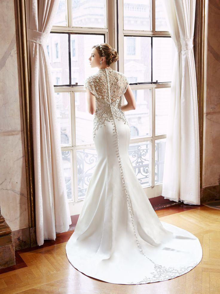 moonlight vegan silk-free wedding dress style