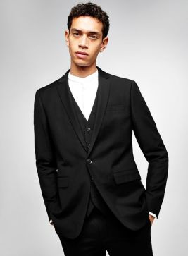 topman men's vegan wedding suit