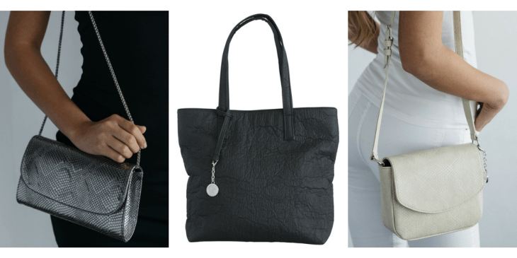 svala vegan bags pinatex sustainable tote