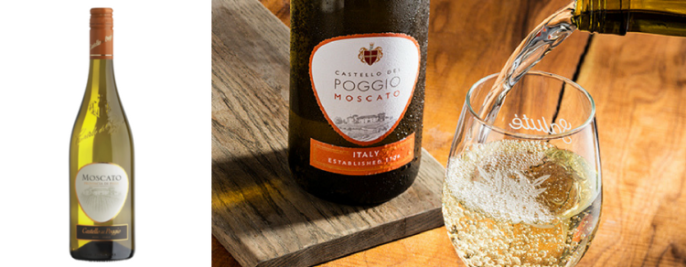 vegan wines CASTELLO DEL POGGIO moscato