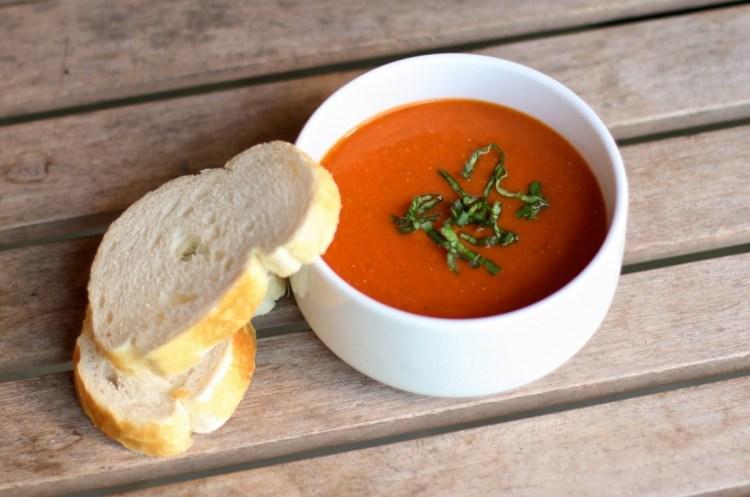 vegan vitamix recipes creamy tomato basil soup