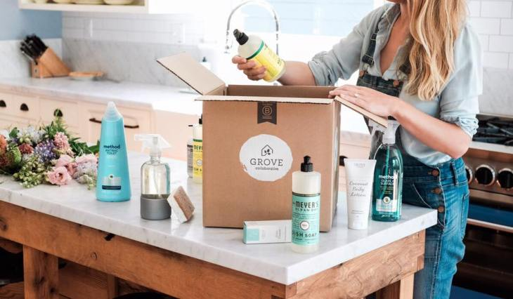 grove collaborative cruelty-free cleaning products