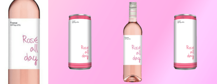 vegan wine rose all day rosé