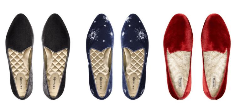 vegan slippers birdiest velvet satin