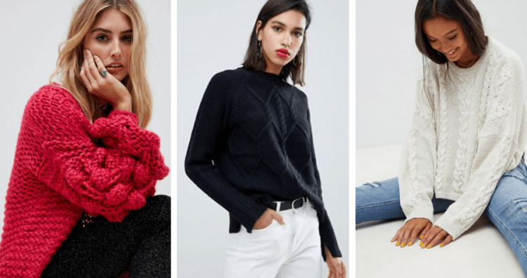 vegan sweaters 2018 asos cable knit