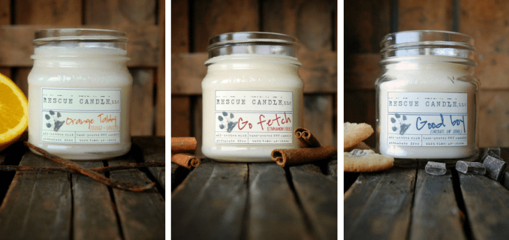 gifts for animal lovers candles that raise funds for rescues
