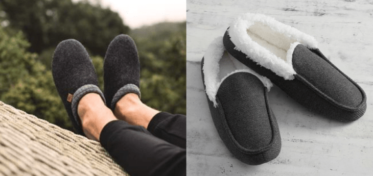 vegan gifts for men cozy slippers freewaters pottery barn