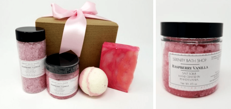 vegan gifts for women etsy bath salts