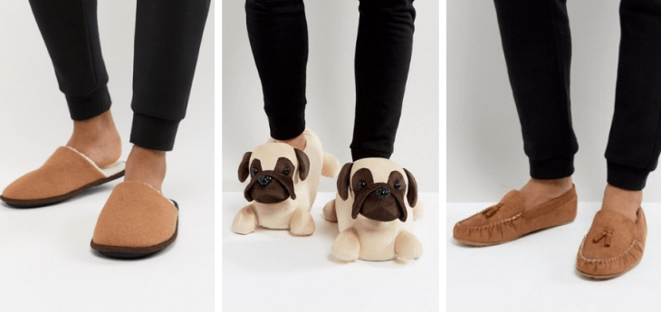 vegan slippers 2018 asos faux leather faux suede