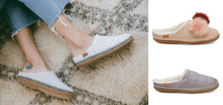 vegan slippers 2018 toms faux shearling