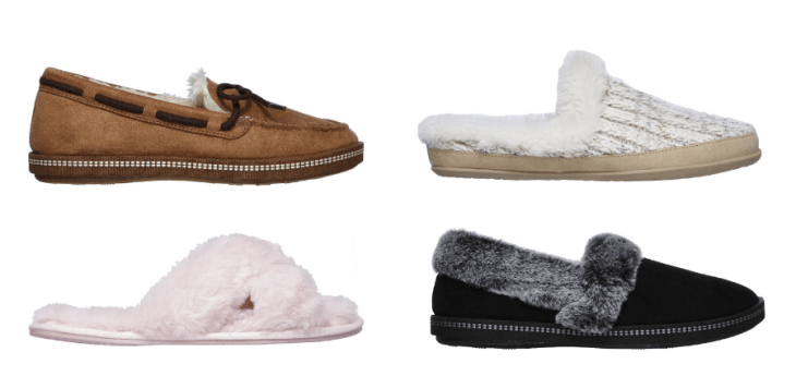 vegan slippers sketchers cruelty-free cozy 2018