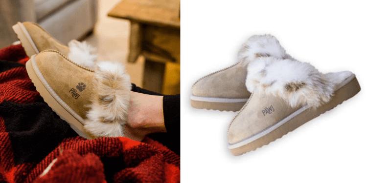 Pawj faux sheepskin footwear
