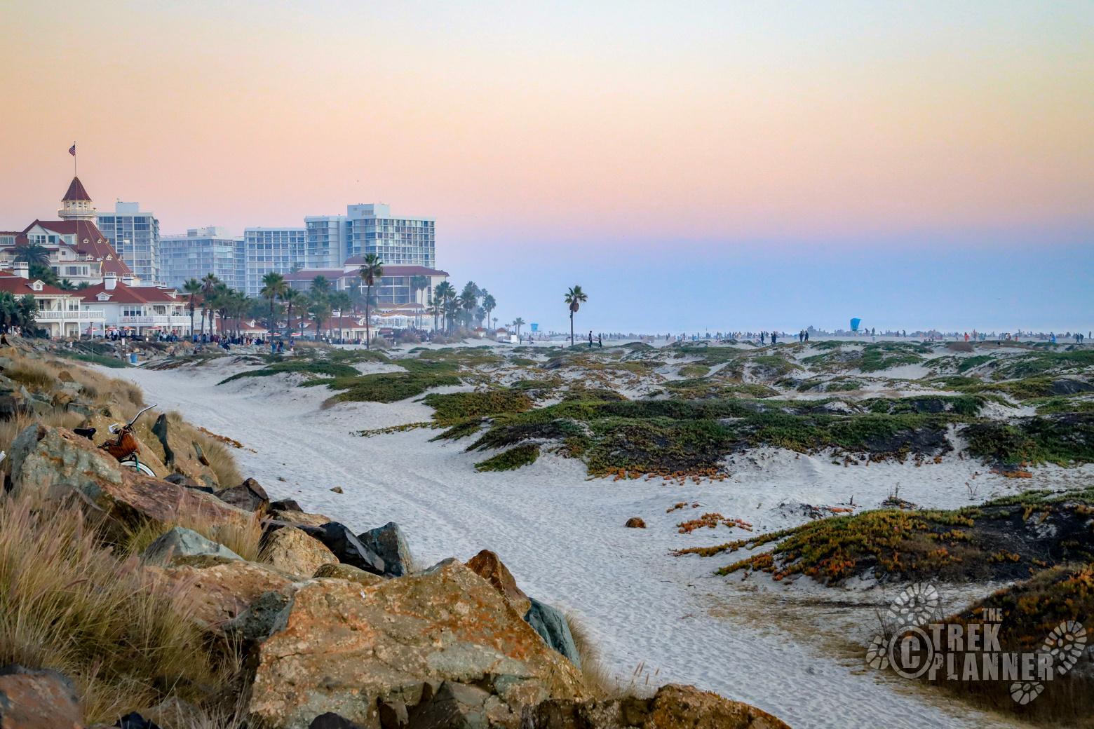 Coronado Beach  San Diego California  The Trek Planner