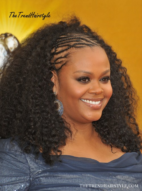 Wavy Ombre With Braids 30 Best Natural Hairstyles For African