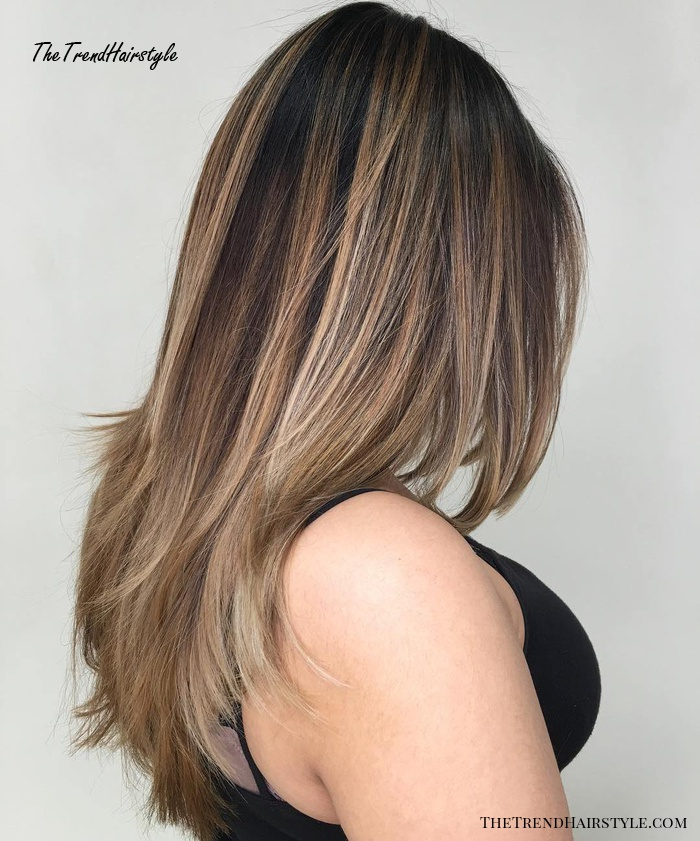 Flipped Out Straight Hair - 30 Best Hairstyles for Long ...
